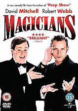 MAGICIANS (DVD - Region 2) David Mitchell & Robert Webb (makers of 'Peep Show')