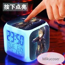 Anime Japan Led Colorful Light Alarm Clock Cosplay Cool Yuri On Ice Collection
