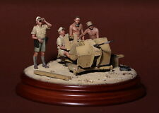 1/35 Scale Resin model kit - WW2 German DAK crew for 20mm Flak 38. anti aircraft