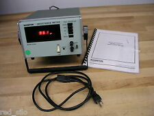 Boonton 62AD Digital Inductance Meter with Manual, 0.001 to 2000 uH @ 1 MHz