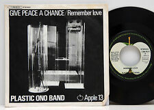 Plastic Ono Band         Give peace a chance       Apple 13     NM # D