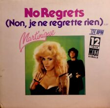 "12""ELECTRONIC DISCO*Martinique ‎– No Regrets*(MAXI-SINGLE) rare press/1985*ITALO"