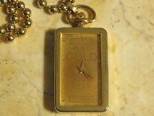 Good as Pure Gold 999 DEJUNO POCKET or PENDANT Watch & Chain