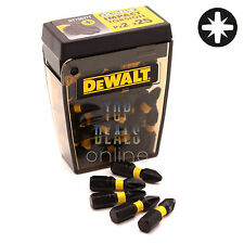 DeWALT PZ2 25mm Extreme Impact Torsion Screwdriver Pozi Bits x25 TicTac DT70527T