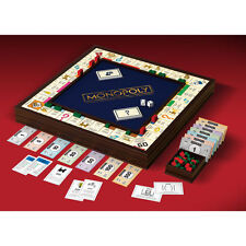 Monopoly Grand Edition Solid Wood Cabinet with Mahogany Finish