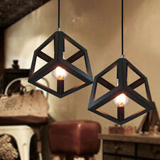 Modern Ceiling Lamp Retro Industrial Vintage Chandelier Bar Decor Pendant Lights