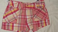 NEW JUST A GIRL SHORTS  GIRLS SIZE 12...PLAID
