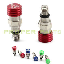 M5*0.8mm Fork Bleeder Relief Valve CR CRF 125 150 250 450 Supermoto Dirt Bike MX