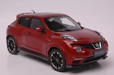 Nissan Juke Nismo RS car model in scale 1:18 red