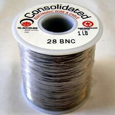 Nichrome 60 resistance wire, 28 AWG (gauge), 1 lb (aprox. 2241 ft)