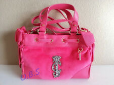 2015 Juicy Couture La Glamour Velour Pink Mini Daydreamer
