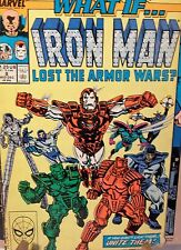 WHAT IF... # 8 - IRON MAN LOST THE ARMOR WARS - CLASSIC COVER - UNCERTIFIED RAW