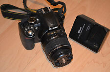 Nikon DX d3100 14.2mp Fotocamera Reflex Digitale - 18-55mm f/3.5-5.6 VRII Lens, in scatola