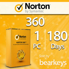 Norton 360 - 2016 - [1 PC] [180 Tage] - VOLLVERSION - Licenz
