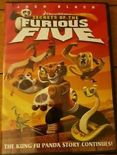 Secrets of the Furious Five (DVD, 2009) LN