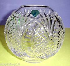 "Waterford Crystal Seahorse Rose Bowl 6"" #127995 New in Box"