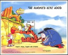 Micronesia 1998 Winnie The pooh/piglet/tigger / eeyore/disney/cartoons 1v m/s b609