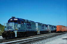 788061 CSX EMD No 6777 With Tropicana Juice Train Bradenton Florida USA A4 Photo