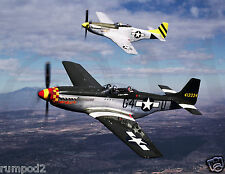 Military Fighter Plane Poster/P51 Mustang/17x22 inch