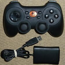 LOGITECH PC CORDLESS RUMBLE PAD 2 WIRELESS DUAL ANALOG GAMEPAD CONTROLLER USB
