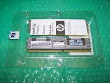 New 4GB HP 667MHz PC2-5300F Fully Buffered FBDIMM RAM, 455263-061 (2x 2GB)