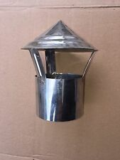 FLUE PIPE RAIN COVER TURKISH SAMOVAR HIKING TEA KETTLE WOOD STOVE WATER HEATER