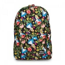 Disney Alice in Wonderland Floral Print Back Pack Loungefly LF-WDBK0132