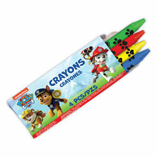 12 Packs Paw Patrol Puppy Pets Childrens Party Treat Favor 4 Crayon Sets