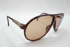 Vintage 80s Carrera Driving Sunglasses Tortoise 5407 Germany Frames Only 1072