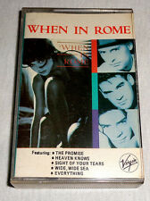 PHILIPPINES:WHEN IN ROME - When In Rome,TAPE,Cassette,RARE,NEW WAVE,The Promise