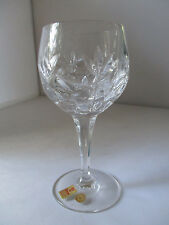NACHTMANN CRYSTAL BAMBERG WHITE WINE GLASSES - GERMANY - SET OF 6 - NEW IN BOX