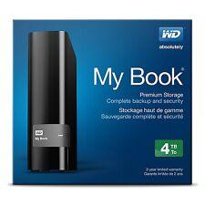 Western Digital My Book 4 TB,External,USB 3.0, 7200 RPM(WDBFJK0040HBK-NESN) HDD