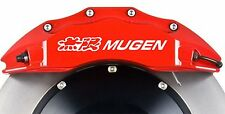 Mugen honda frein décalcomanies autocollants x6, couleurs diverses type r civic integra