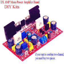 1set DX LM3886 TDA7293 AMP Mono Power Amplifier Board Kits DIY 100W 6-8Ω D
