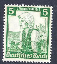 Nazi Germany Third Reich 1935 Lady Rheinland 5 Stamp WW2 Era