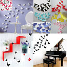 12Pcs 3D DIY Wall Sticker Stickers Butterfly Home Decor Room Decorations HOAU