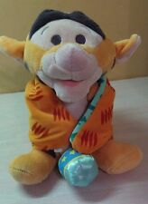 "Disney babies Winnie the Pooh Tigger the Tiger Orange Blanket Plush 9.5""  NWOT"