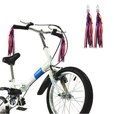 2 Pair Bicycle Handlebar Streamers Tassels Bike Cycling Tricycle Kids Girls