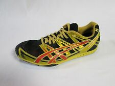 ASICS GEL DIRT DOG 2 CROSS COUNTRY SPIKES YELLOW, RED, SIZE 11.5 EUC!! GN706