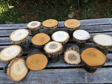 25 mini small Cupcake stands Log Wood Rustic Cake Cupcake Stand Wedding party