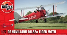 Airfix A01024 De Havilland DH.82a Tiger Moth Aircraft Kit 1/72 Free 1st Post