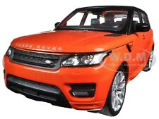 RANGE ROVER SPORT ORANGE 1:24 DIECAST MODEL CAR BY WELLY 24059