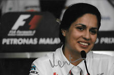 Monisha Kaltenborn SIGNED  F1 Sauber Team Principal Portrait