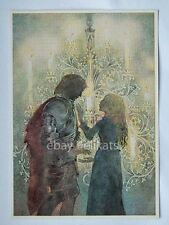 SULAMITH WULFING original art post card print vintage 34 Before Candlestick