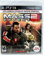 EA Mass Effect 2 PS3 Game Brand New/Sealed