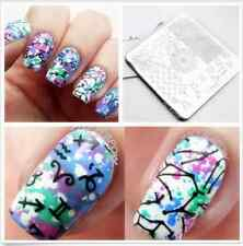 Nagel Stempel Schablone Nail Art Stamp Template Image Stamping Plate Y020