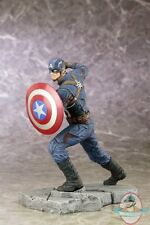 Captain America Civil War Movie Captain America Artfx+ Kotobukiya