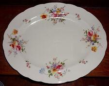 """Royal Crown Derby Pink Multi Colored Posies Posie 15"""" Platter"""