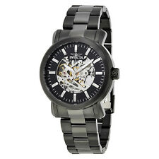 Invicta Vintage Objet D Art Automatic Black Dial Mens Watch 22576
