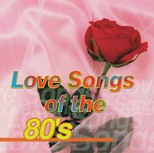 Love Songs of the 80s by VARIOUS ARTISTS Format: Audio CD FREE SHIPPING,NEW